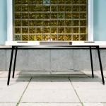 KILO 45: White Drawers Schreibtisch